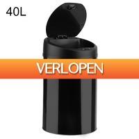 Dealqlub.com: Smart Sensor prullenbak (40 liter)