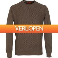 Suitableshop: Suitable Pullover bruin