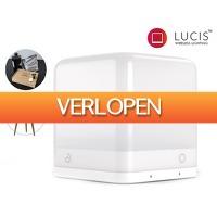 iBOOD Home & Living: Lucis Premium ABS Glacier White draadloze lamp