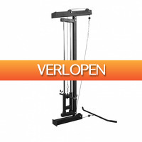Befit2day.nl: Lat Pulley wandmontage