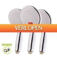 Gadgetsgift.nl: LED douchekop met temperatuurweergave