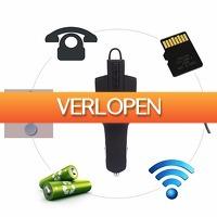 Uitbieden.nl 2: Bluetooth V4.1 autolader headset