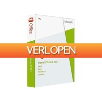 HelloSpecial.com: Veiling: Microsoft Office 2013 Home & Student (download)