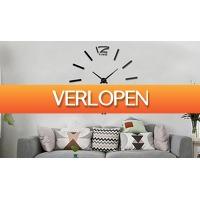 ActievandeDag.nl 1: Wandklok met 3D-effect