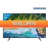 iBOOD.be: Samsung UE55NU7100 4 K Smart TV
