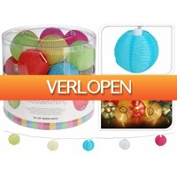 Stuntwinkel.nl: 20 gekleurde LED Lampionnen