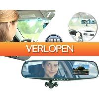 1DayFly Outdoor: Mirror cam: autospiegel met HD camera