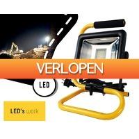 1DayFly: Led's work 30w LED bouwlamp