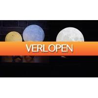 ActievandeDag.nl 1: Maan nachtlamp