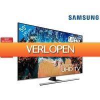 iBOOD.be: Samsung UE55NU8000 4 K Smart TV
