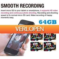 Uitbieden.nl 3: LD Class 10 Micro SD kaart 64GB 40 mbs