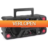 MaxiAxi.com: Fenton MDJ140 Partystation 200W op accu met Bluetooth & microfoon