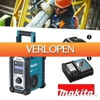 Wilpe.com - Tools: Makita Li-Ion accu bouwradio DMR110 18V