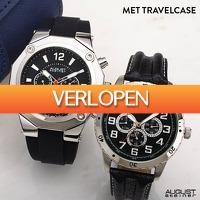 Watch2day.nl: August Steiner Men's Multifunctionals gift set