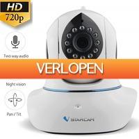 Uitbieden.nl: WiFi IP 960p camera met 2-way audio