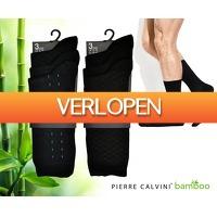Voordeelvanger.nl 2: 12 paar Pierre Cardin bamboe sokken