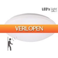 iBOOD Home & Living: LED's Light LED plafonniere met sensor