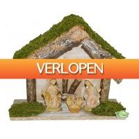 Warentuin.nl: Kerststal met 3 figuren