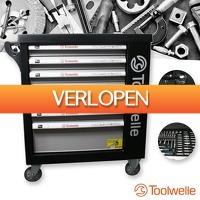 Wilpe.com - Tools: 238-delige Toolwelle gevulde gereedschapswagen