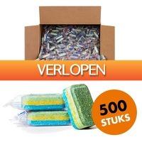 CheckDieDeal.nl 2: 500 x vaatwastabletten