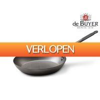 iBOOD.be: deBuyer plaatstalen braadpan 28 cm