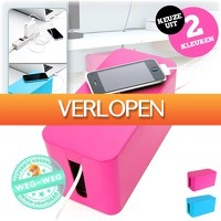 voorHAAR.nl: Cable storage box