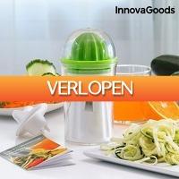 TipTopDeal.nl: InnovaGoods 4-in-1 groentesnijden en fruitpers