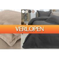 VoucherVandaag.nl 2: Luxe wave bedsprei
