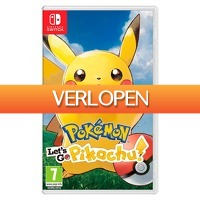 Wehkamp Dagdeal: Nintendo Pokemon: Let's Go, Pikachu! (Nintendo Switch)