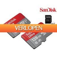 iBOOD.be: 2x SanDisk Ultra microSDXC 128 GB