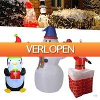 Wilpe.com - Home & Living: Opblaasbare kerstfiguren XXL