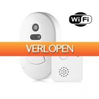 Koopjedeal.nl 2: Draadloze WiFi deurbel met ingebouwde camera