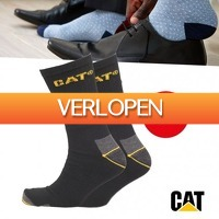 Pricestunter.nl: 3 paar CAT Werksokken Black Edition