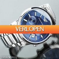 Watch2Day.nl 2: Emporio Armani Chronograph heren horloge
