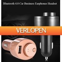 Uitbieden.nl 2: Autolader en headset T1 Bluetooth