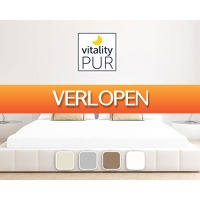 1DayFly Sale: Vitality Pur luxe hotel jersey hoeslakens