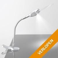 Bureaulamp met vergrootglas
