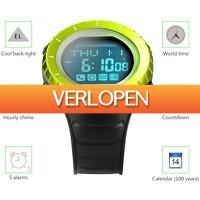 Uitbieden.nl: Youngs PS1502 waterdichte sportswatch