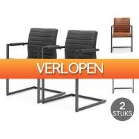 Voordeelvanger.nl 2: 2 x industriele Swinger stoelen