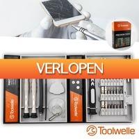 Wilpe.com - Tools: 39-delige Toolwelle precisie schroevendraaierset
