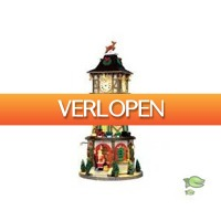 Warentuin.nl: Kersthuisje Christmas clock tower
