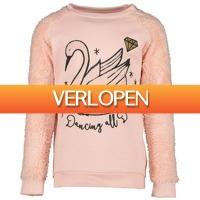 Kleertjes.com: Orange stars sweater