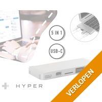 Hyper USB-C 5 in 1 adapter