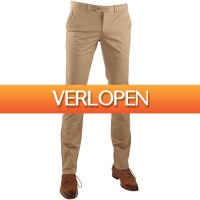 Suitableshop: Suitable chino broek Dante Khaki