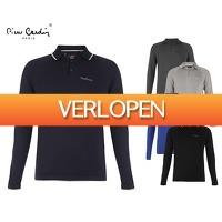 Voordeelvanger.nl: Pierre Cardin long sleeve polo