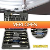 Wilpe.com - Tools: Benson bomvolle gereedschapskoffer