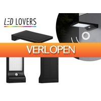 DealDonkey.com 2: Led Lovers Kansas Solar LED buitenlamp met sensor