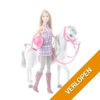 Barbie paard met Barbiepop