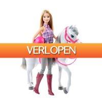 Wehkamp Dagdeal: Barbie paard met Barbiepop
