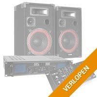 MAX complete 500W Bluetooth DJ set